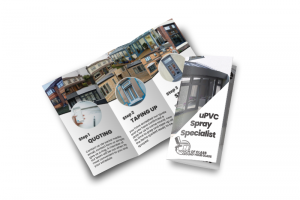 website mockup leaflet Touch of Class resized